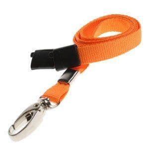 Lanyards with metal lobster clip, Various Colours, 25 Pack